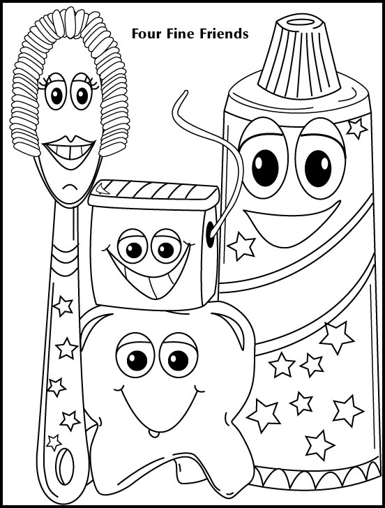 orthodontic coloring pages - photo#3
